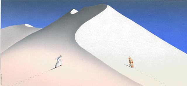 Billout -bedouin_eskimo