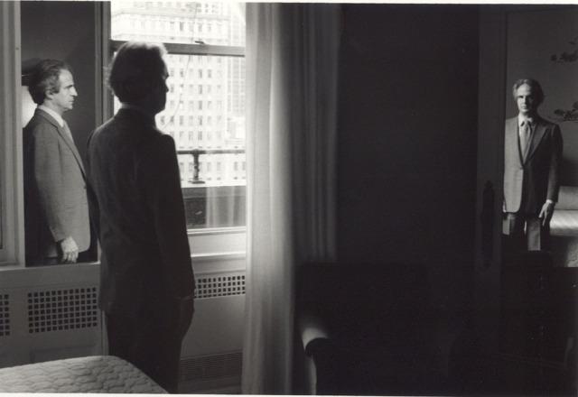 Francois Truffaut by Duane Michals