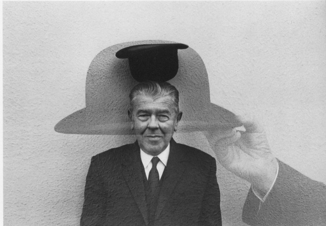 Magritte (Coming and Going) by Duane Michals