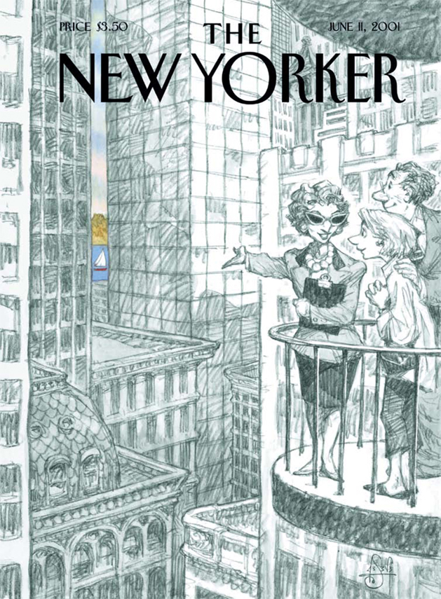 New Yorker - Peter de Sève