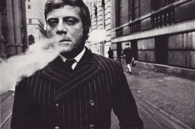 Oliver Reed by Duane Michals