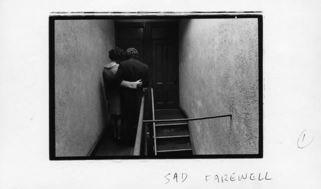 Sad farewell by Duane Michals