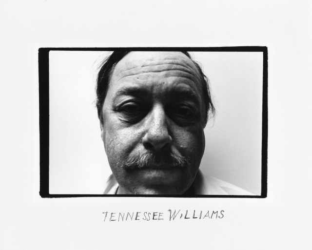 Tennessee Williams by Duane Michals