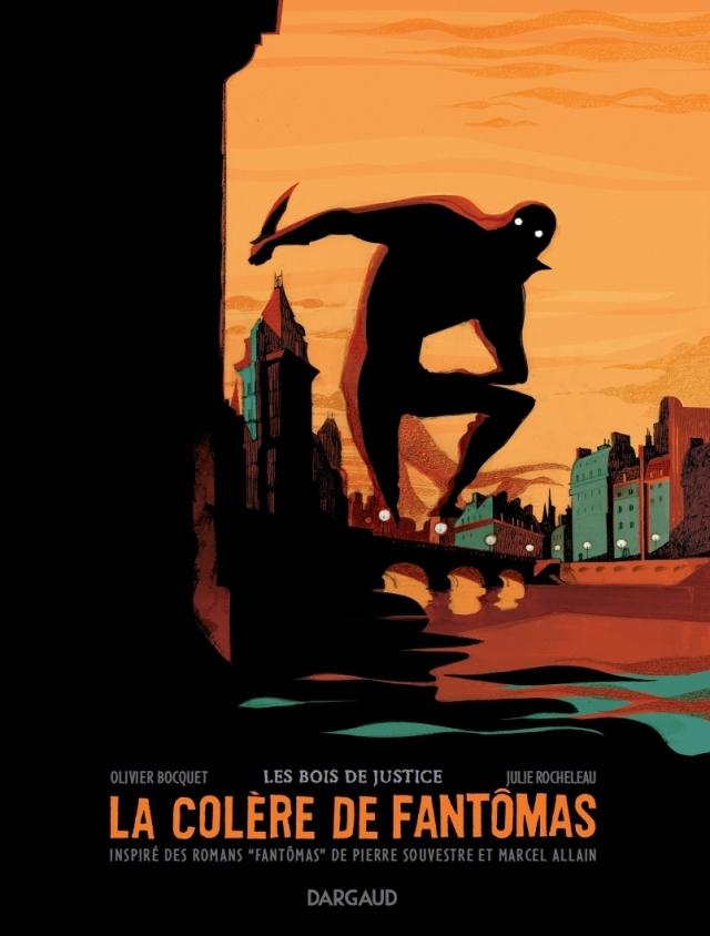 Colère de Fantomas - couverture