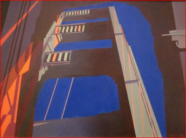 Golden Gate - Charles Sheeler 1955