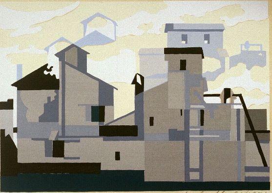 Sheeler - Architectural Cadences Number Four