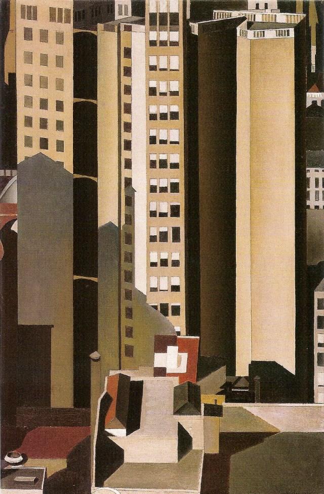 Sheeler - Skyscrapers