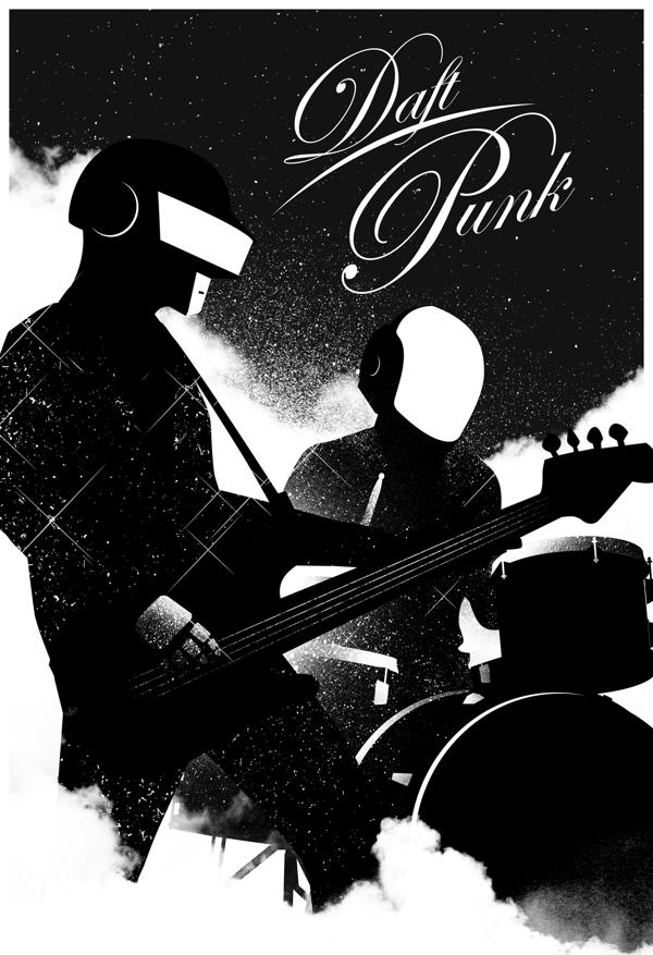 Daft Punk by Van Genderen