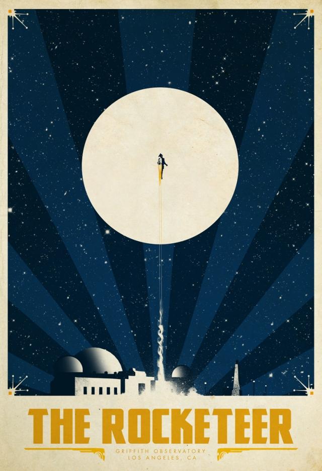 The Rocketeer by Van Genderen
