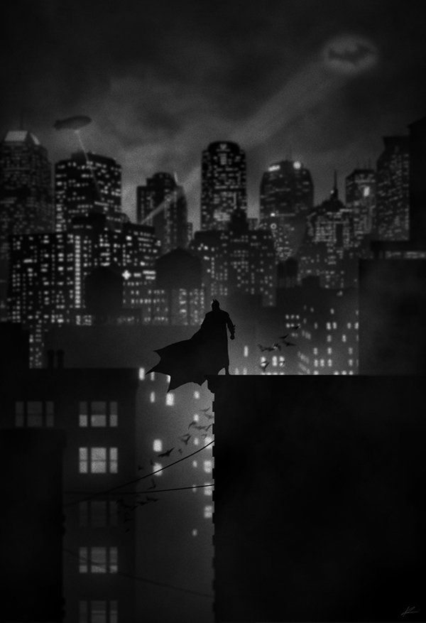 Caped crusader by Marko Manev