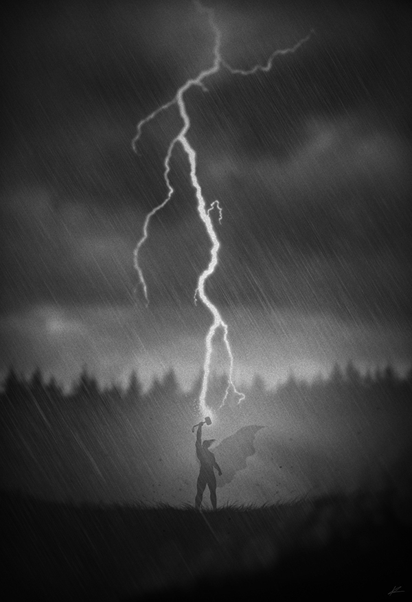 God of Thunder by Marko Manev