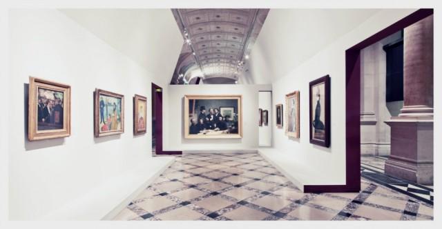 impressionism-exhibition-hotel-de-ville-paris by Franck Bohbot