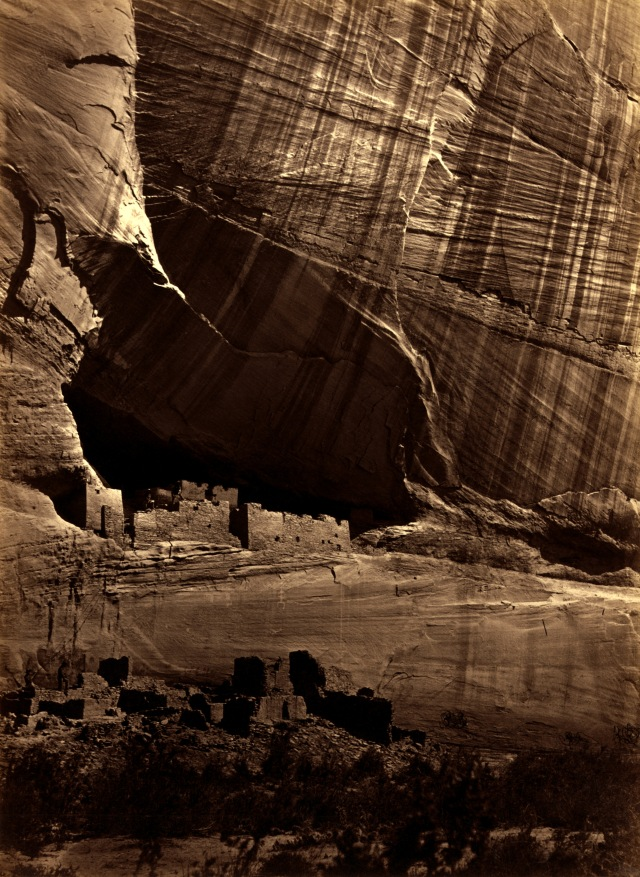 "Timothy_O'Sullivan,_Anasazi_ruins_(the_""White_House""),_Canyon_de_Chelly,_Arizona,_1873"